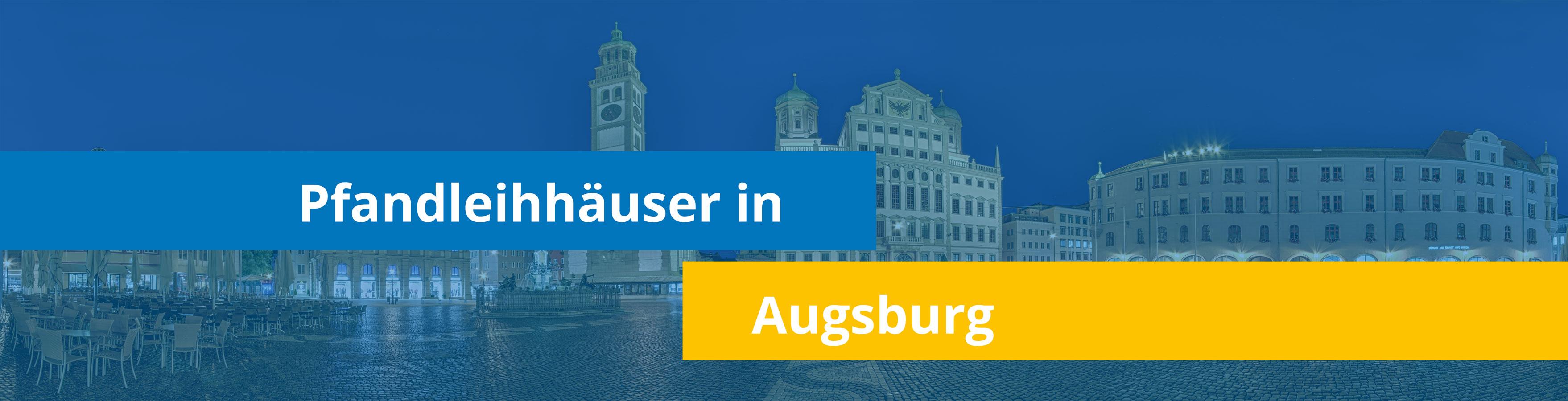 Leihhäuser in Augsburg