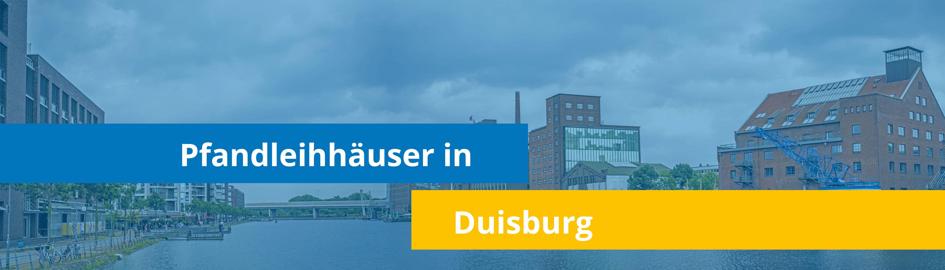 Leihhäuser in Duisburg