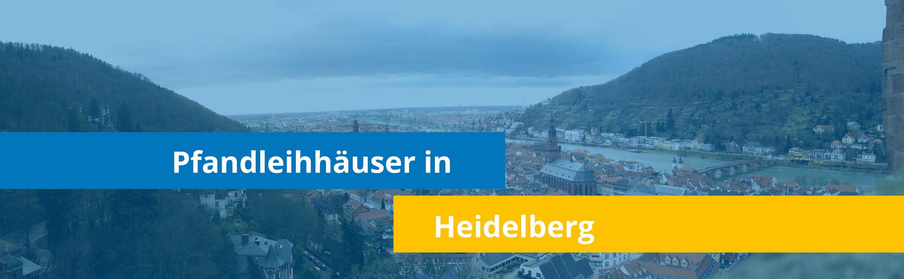 Leihhäuser in Heidelberg