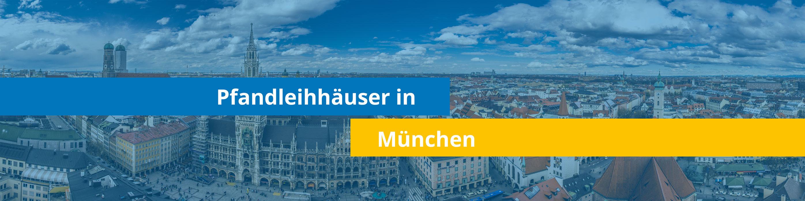 Leihhäuser in München