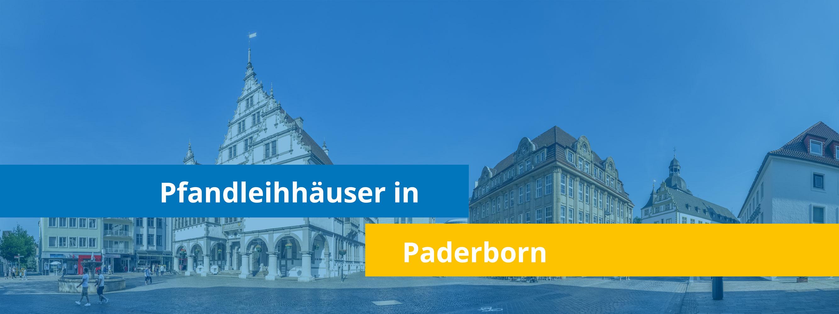 Leihhäuser in Paderborn