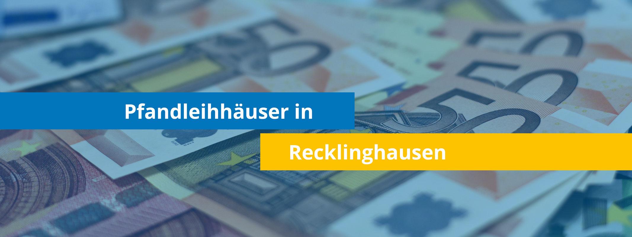 Leihhäuser in Recklinghausen