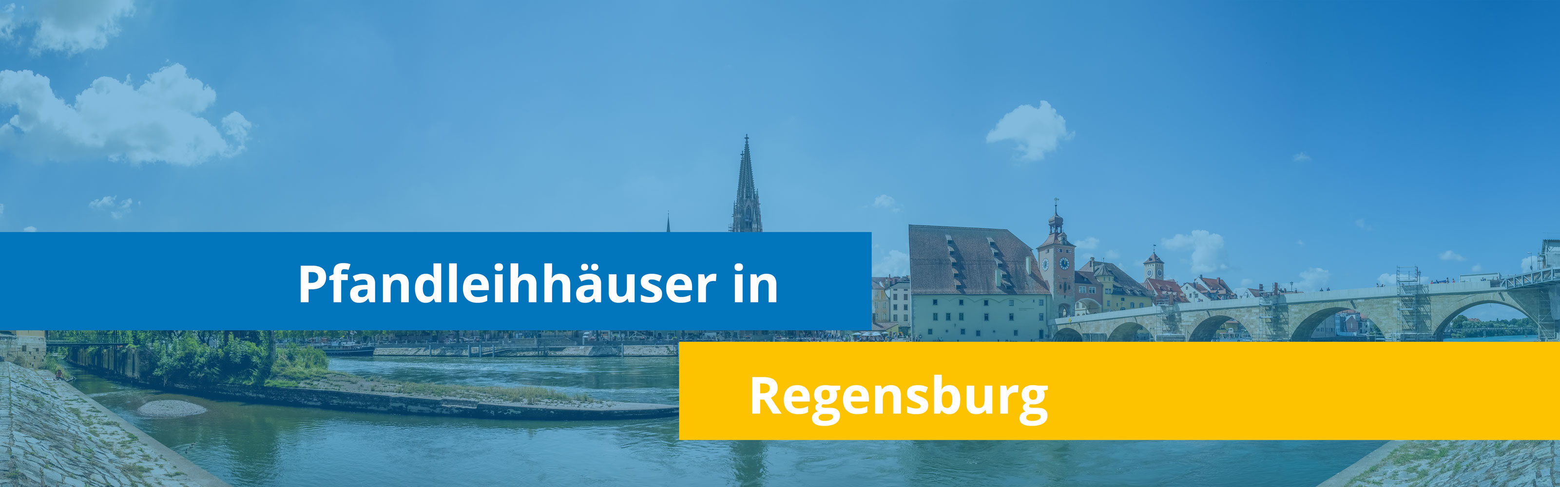 Leihhäuser in Regensburg