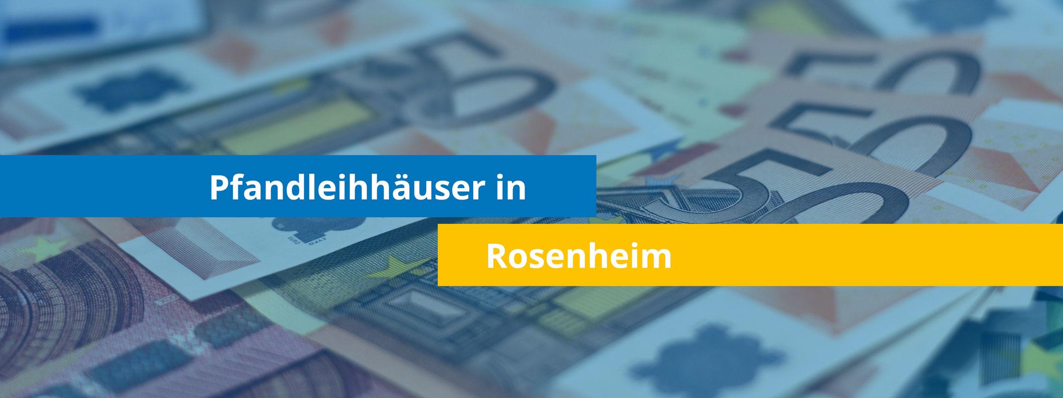 Leihhäuser in Rosenheim