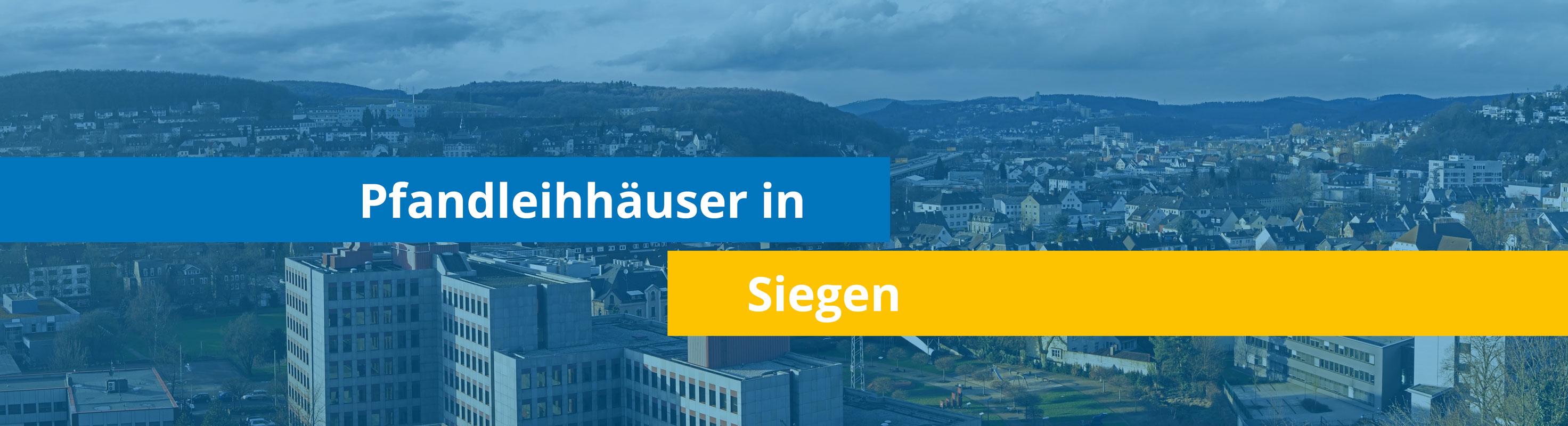 Leihhäuser in Siegen