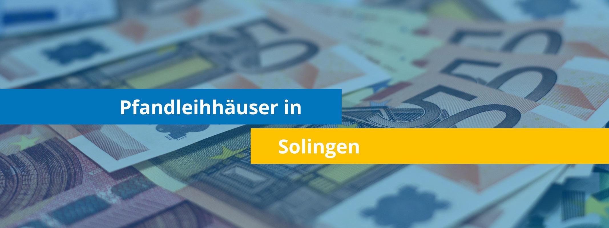 Leihhäuser in Solingen