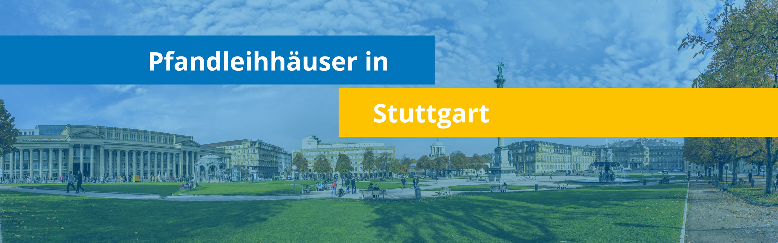 Leihhäuser in Stuttgart