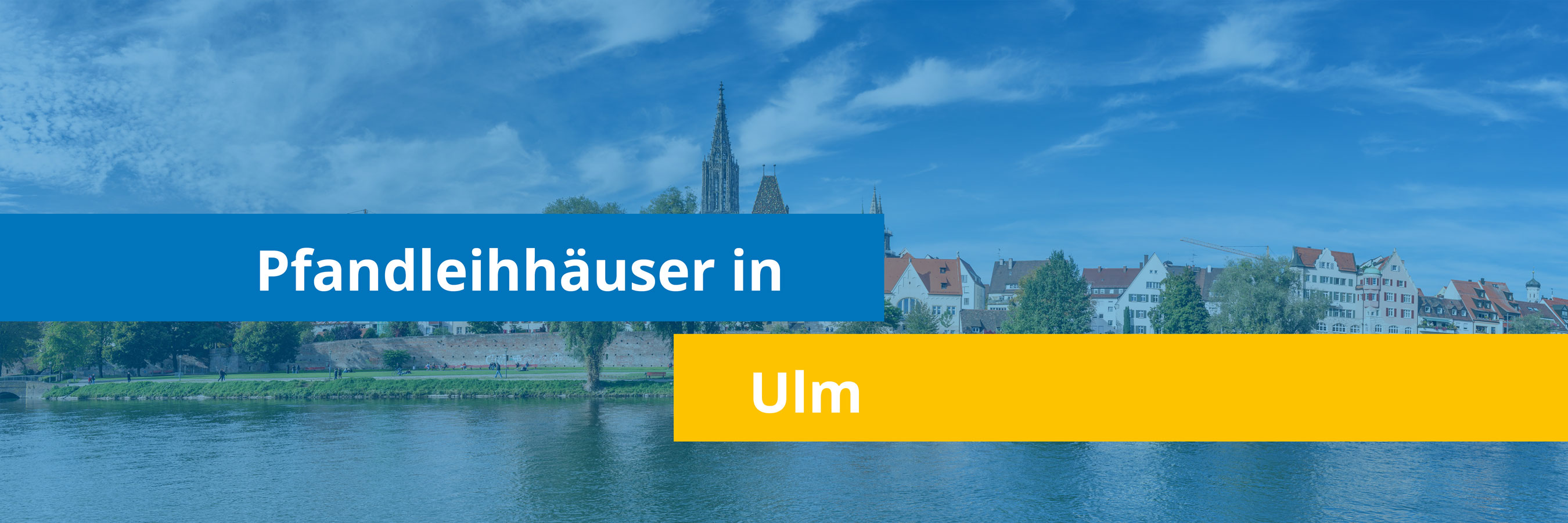 Leihhäuser in Ulm