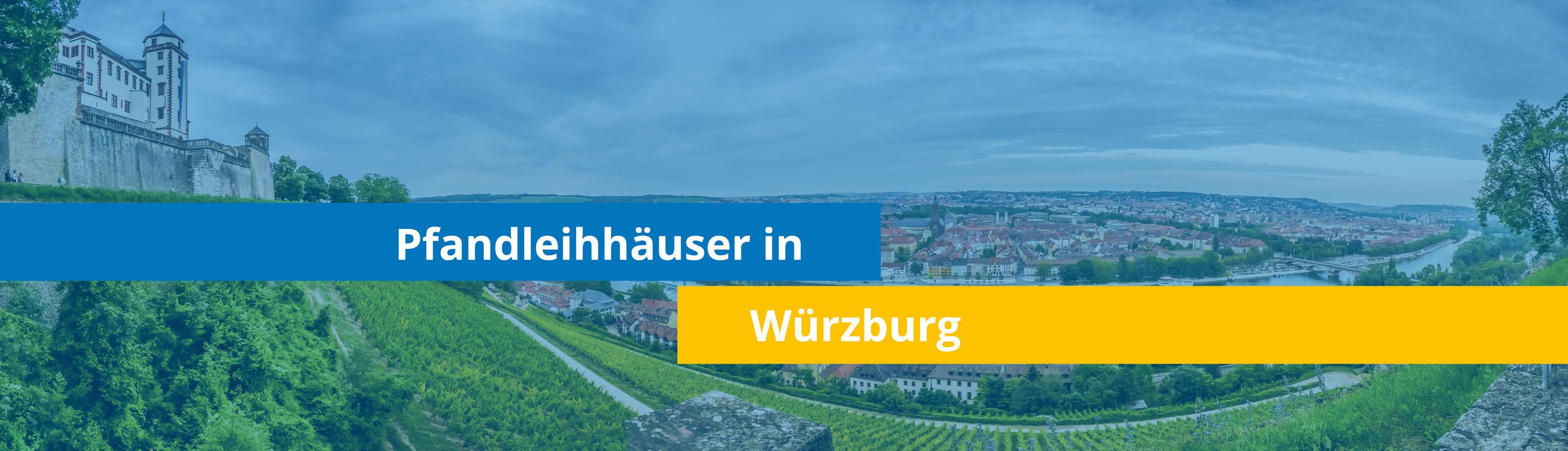 Leihhäuser in Würzburg