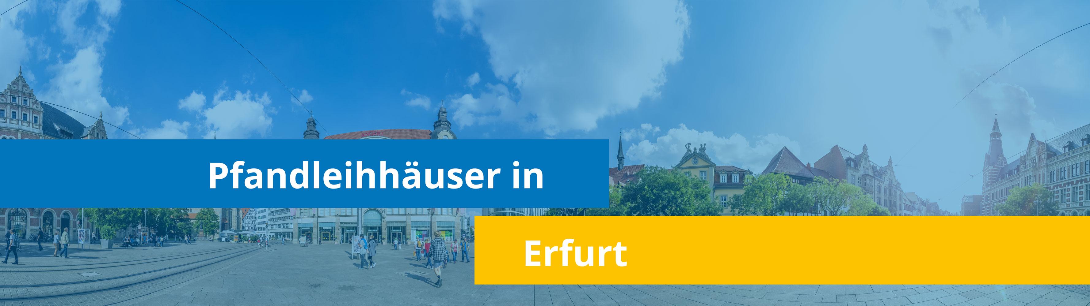 Leihhäuser in Erfurt